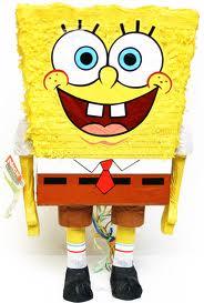 sponge bob pinata